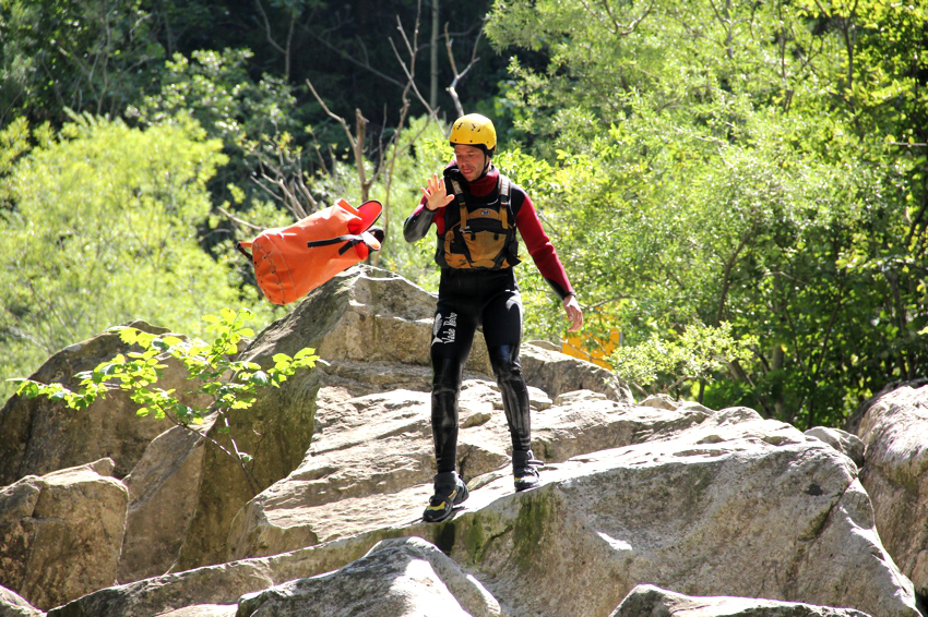 offrir du canyoning