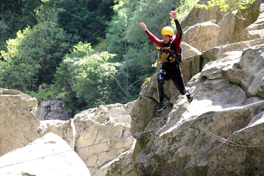 canyoning en Gruyère
